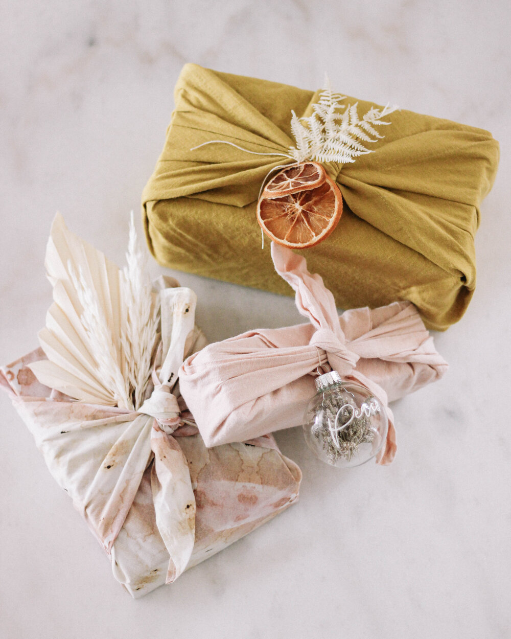 Sustainable Gift Wrap for the Holidays - A Fabulous Fete