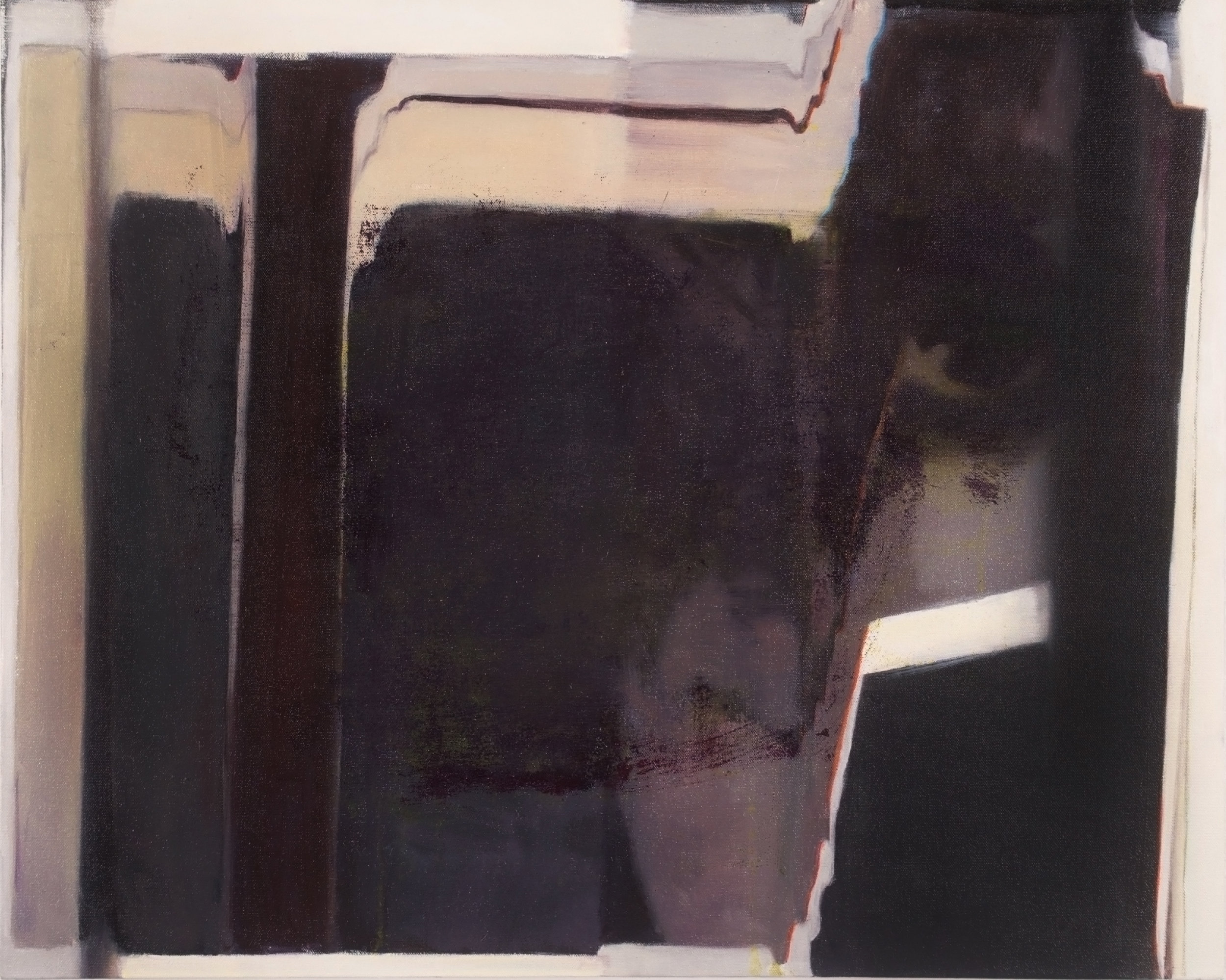 Negation #3, 2015  Oil on canvas  24 x 30 inches