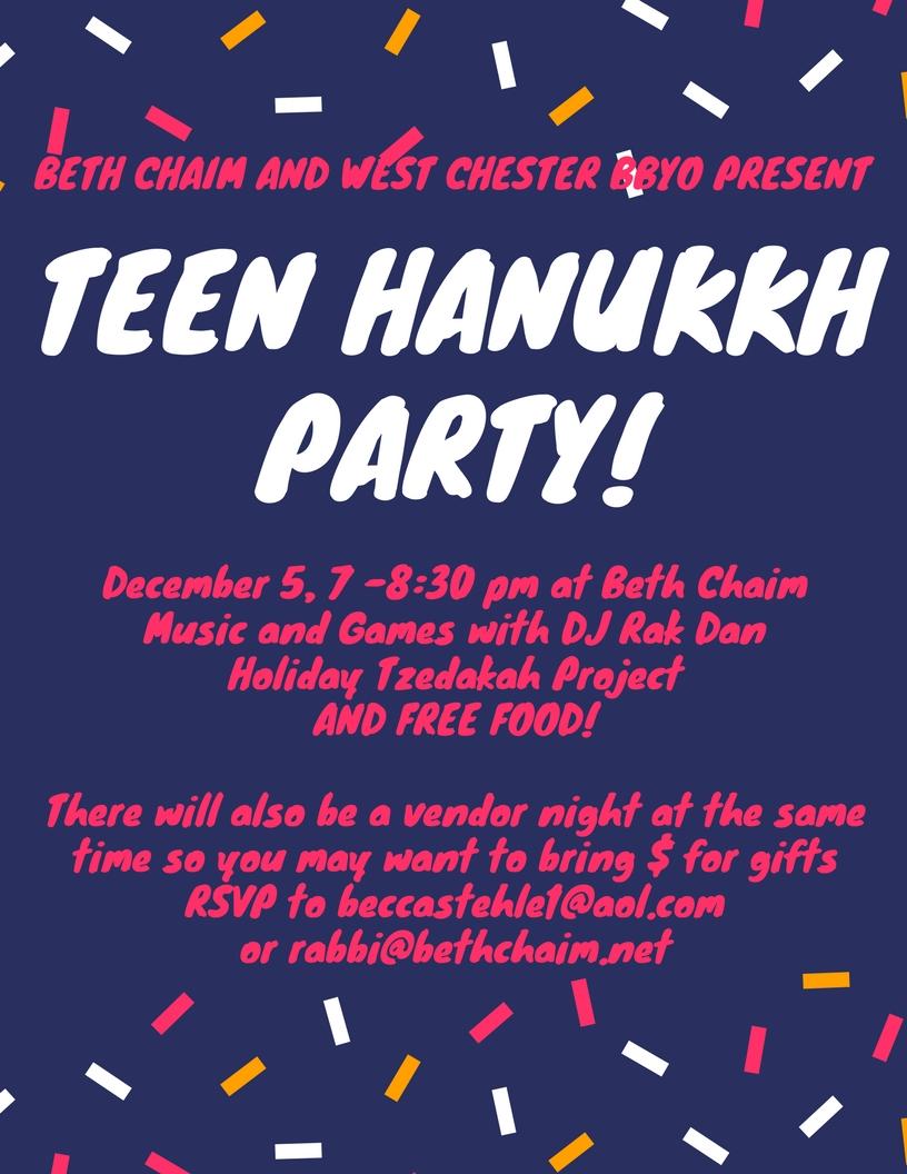 Teen Hanukkah Party BCRC BBYO 2017.jpg