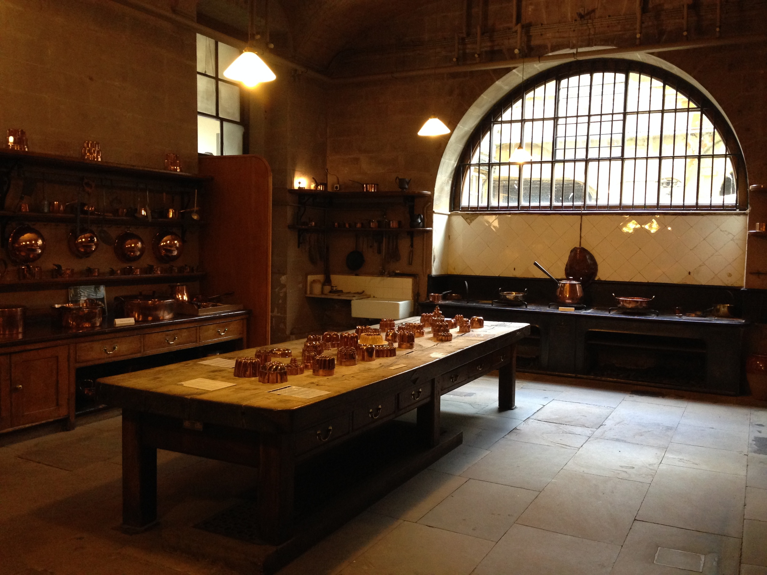 Downton Abbey Schmownton Abbey. Harewood House's kitchen has it beat.
