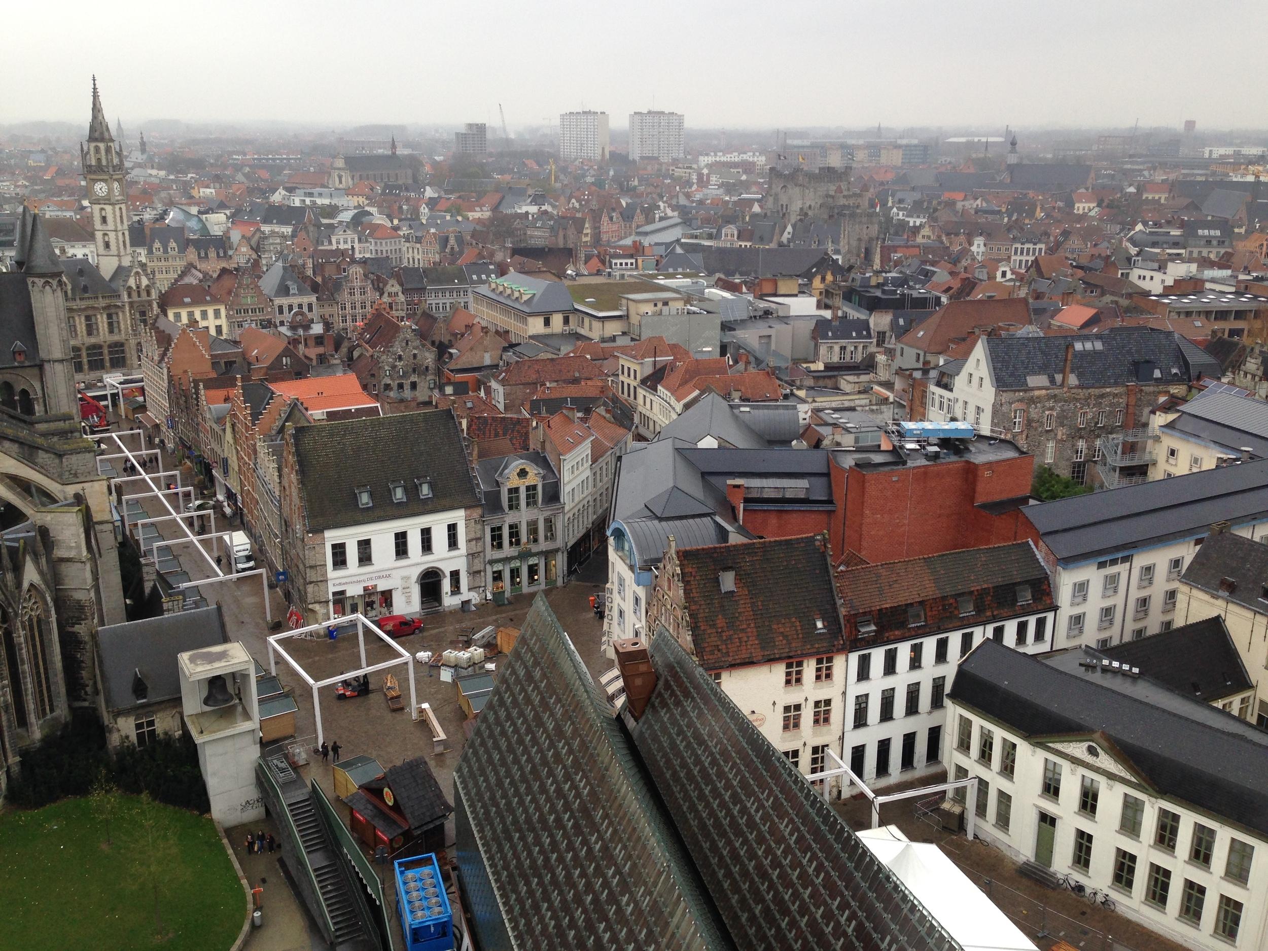 Gent, Belgium in November