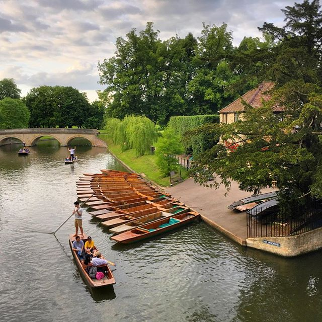 On our last weekend in England we got a babysitter and wondered the streets of Cambridge. A perfect way to celebrate our 5 months of travel. #cambridge