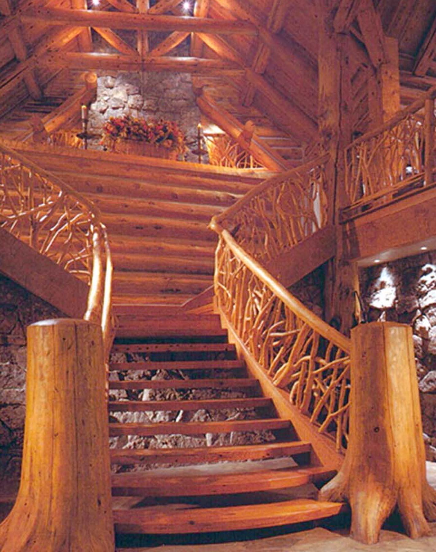 Entry Stairs - Bear Dance Ridge, BEAM Award, Hal Colvin