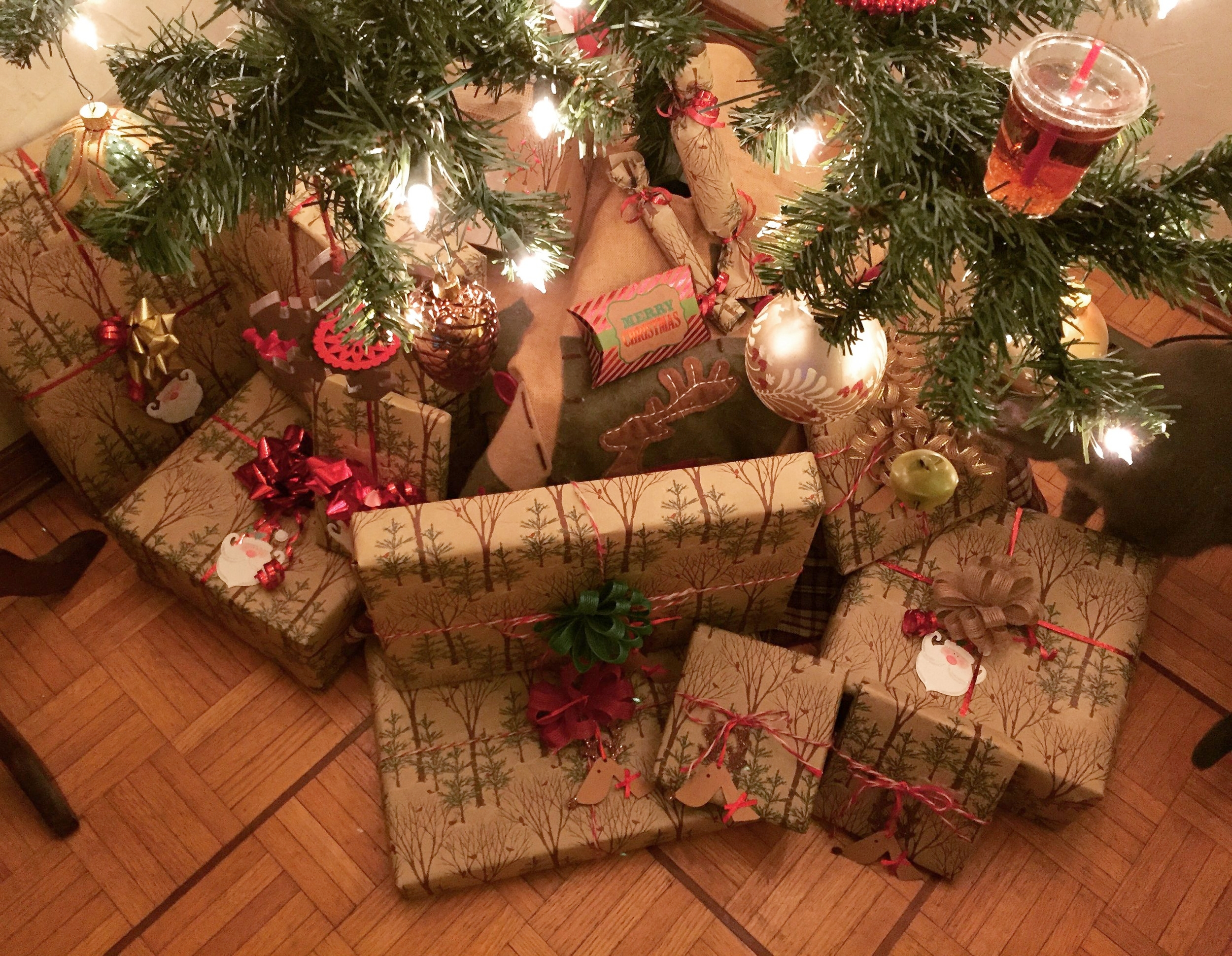 Brown paper packages tied up with string...these are a few of my favorite things!