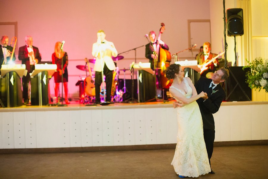 Thanks, Dad, for doing all those Dad/Daughter dances and for relearning one for my wedding. It meant the world.  Photo by Apryl Ann Photography