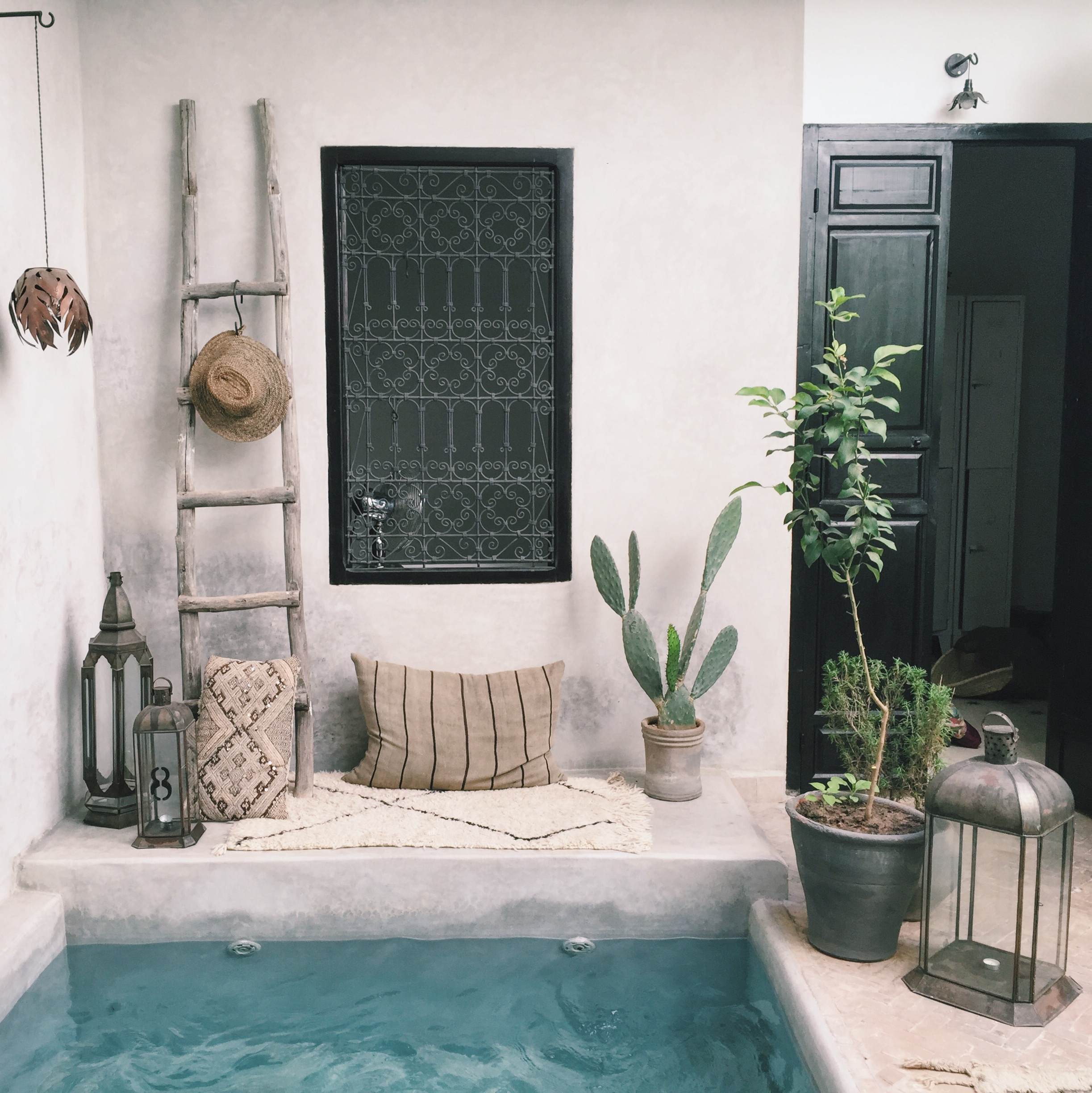 could not get enough of this beautiful courtyard and home