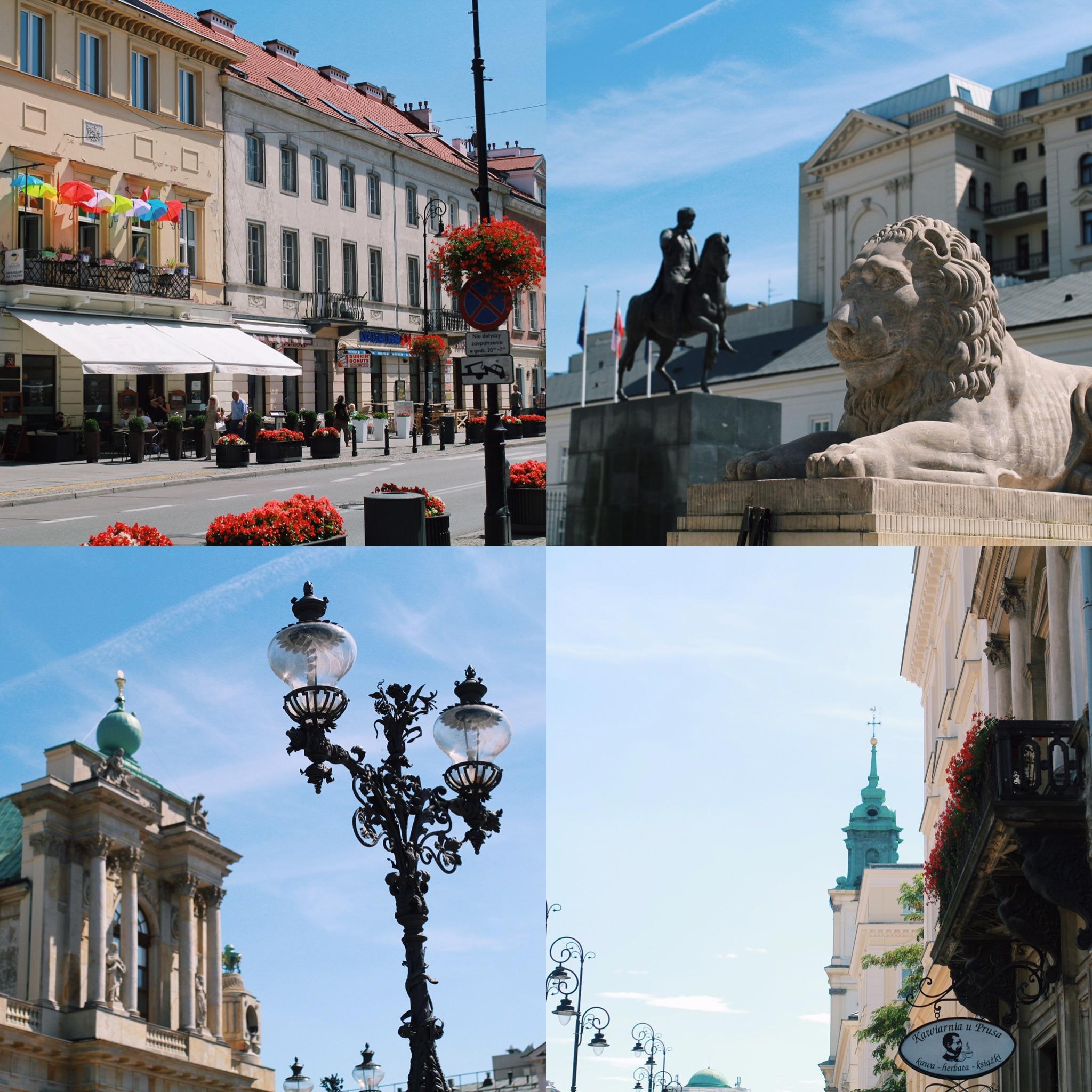 snaps from a walk down a main street - Krakowskie Przedmiescie