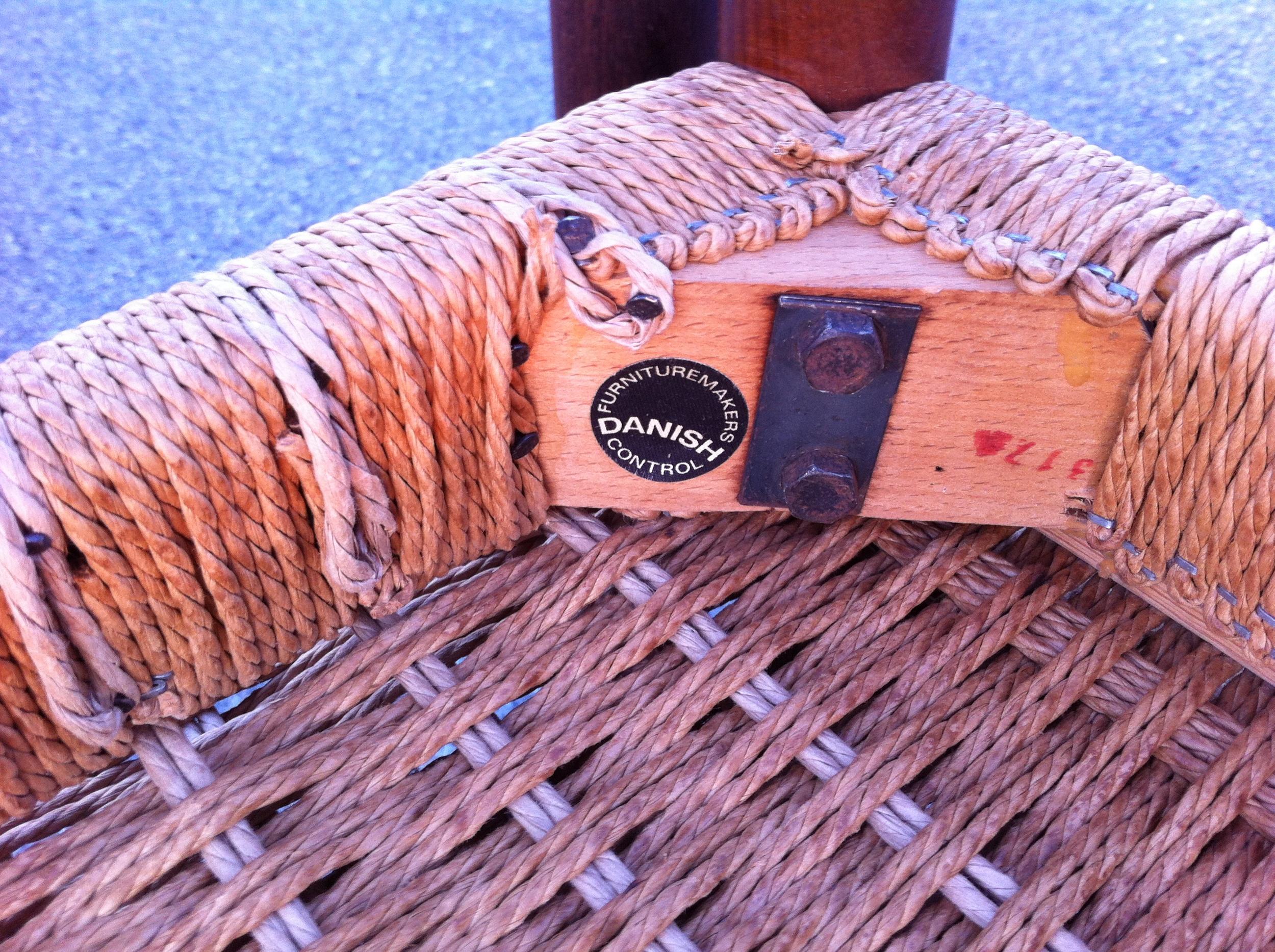 Danish Paper Cord Repairs.