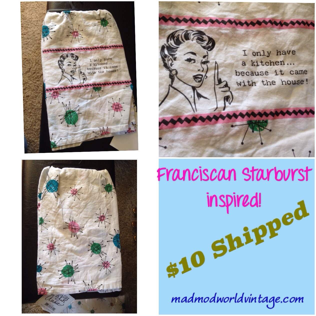 More Franciscan Starbursts!  10 available.