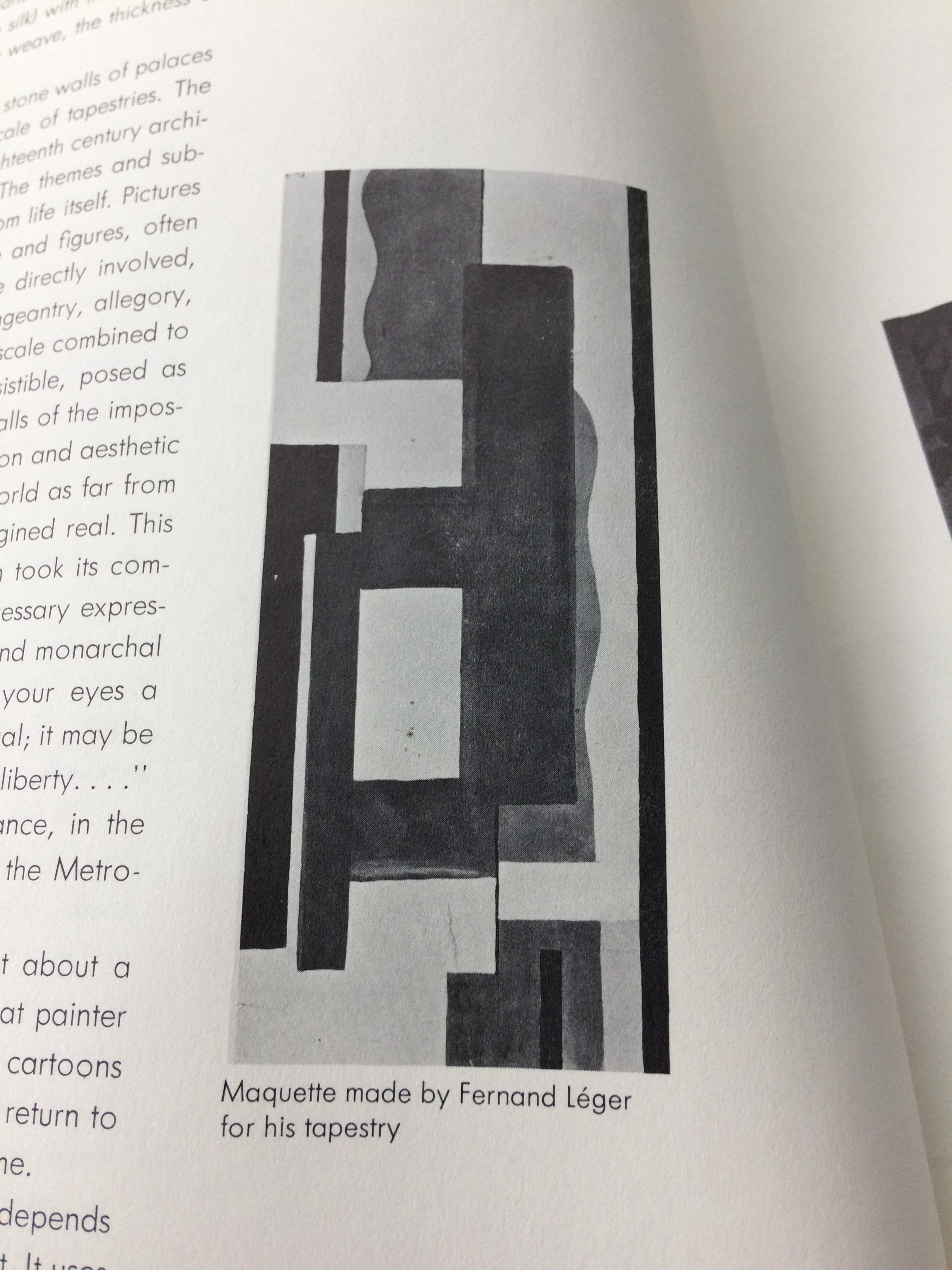 A Marquette is the working drawing that was commissioned by the artist and which the rug design was based on. Most refer to this design as 'Blanc' which is referring to the white background on this design.