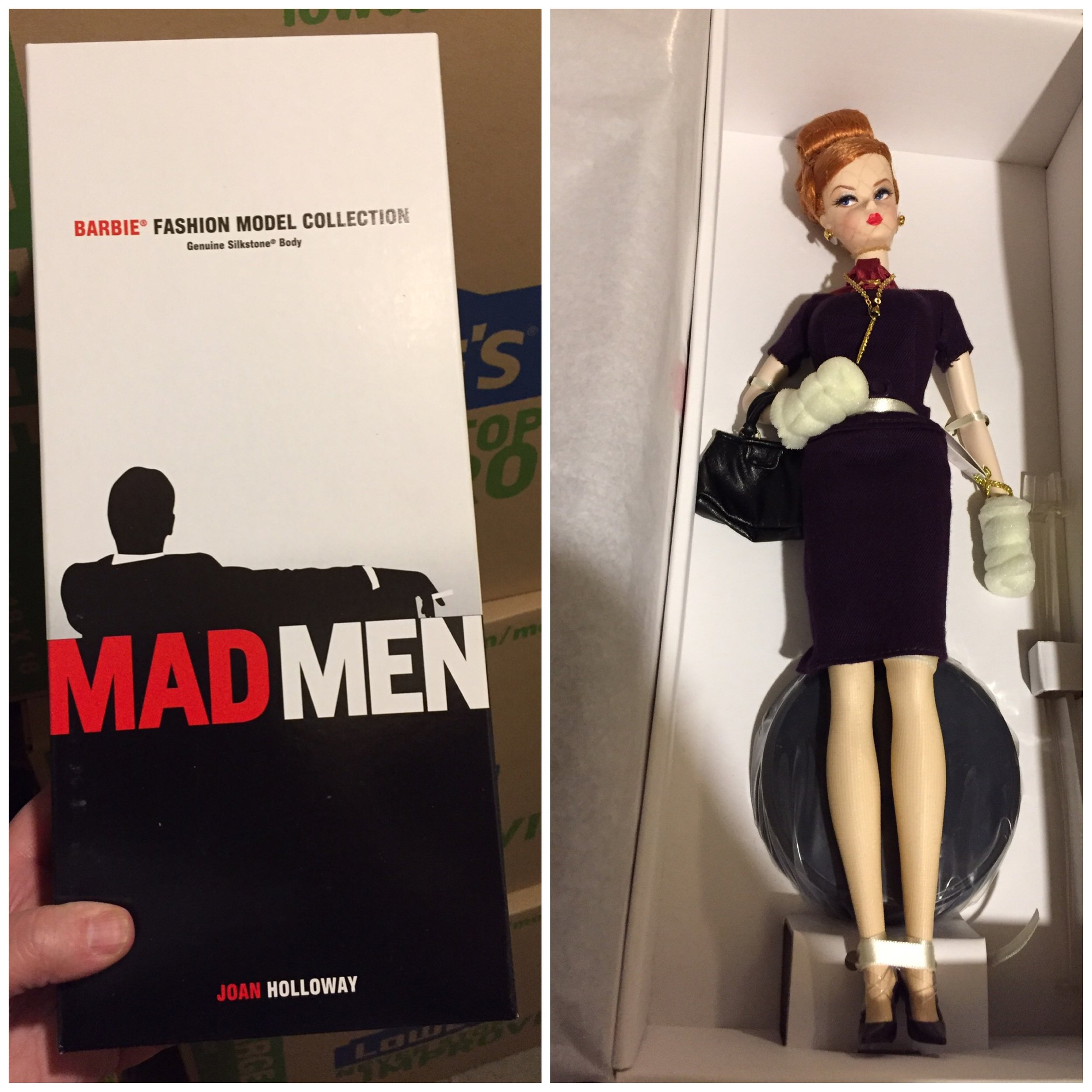 Joan is here waiting for you!  Is there more from this series?  I have no clue! When I start on the Barbies I will be posting in social media.  I would say that these are probably headed to eBay.
