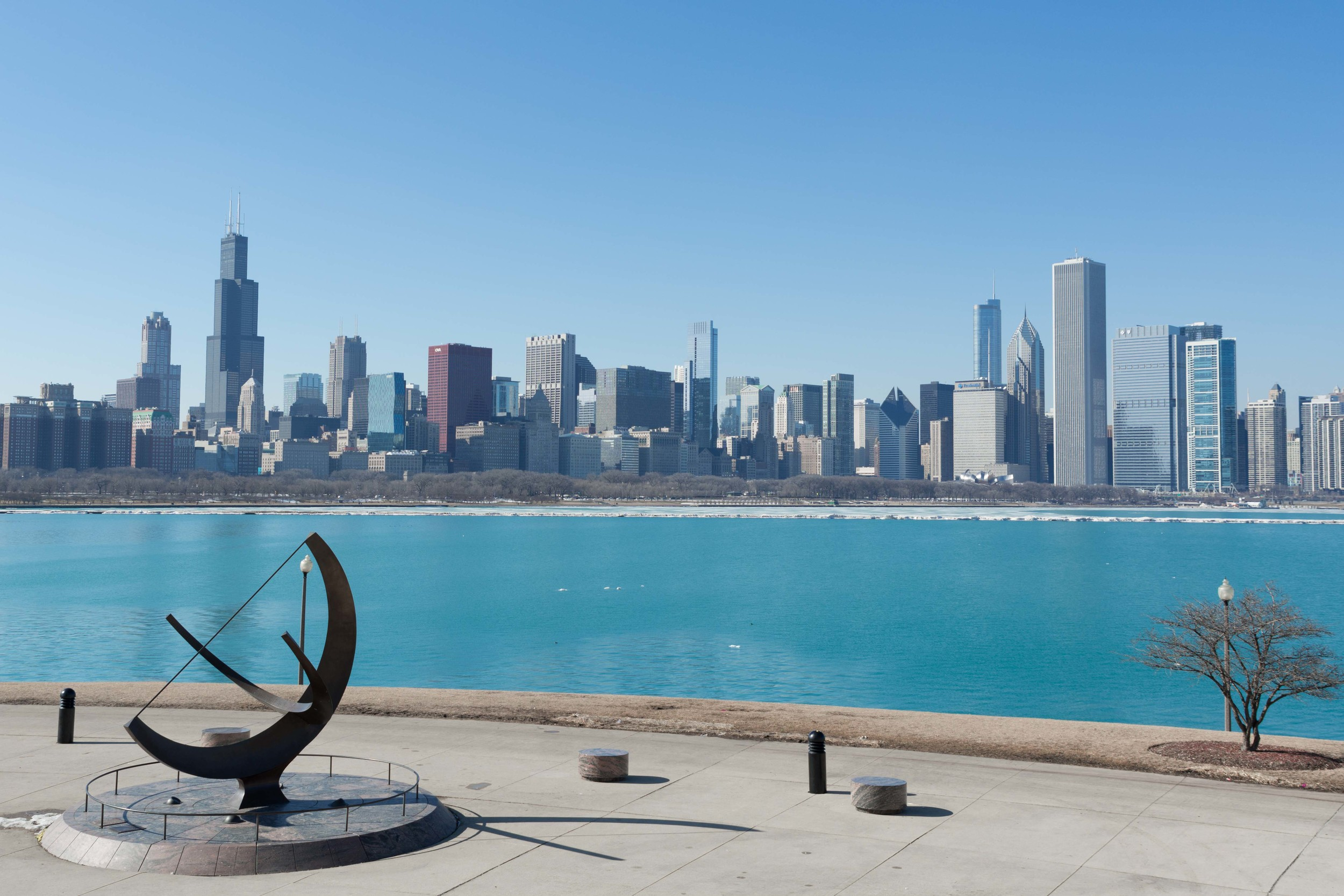 Chicago Over the Bay