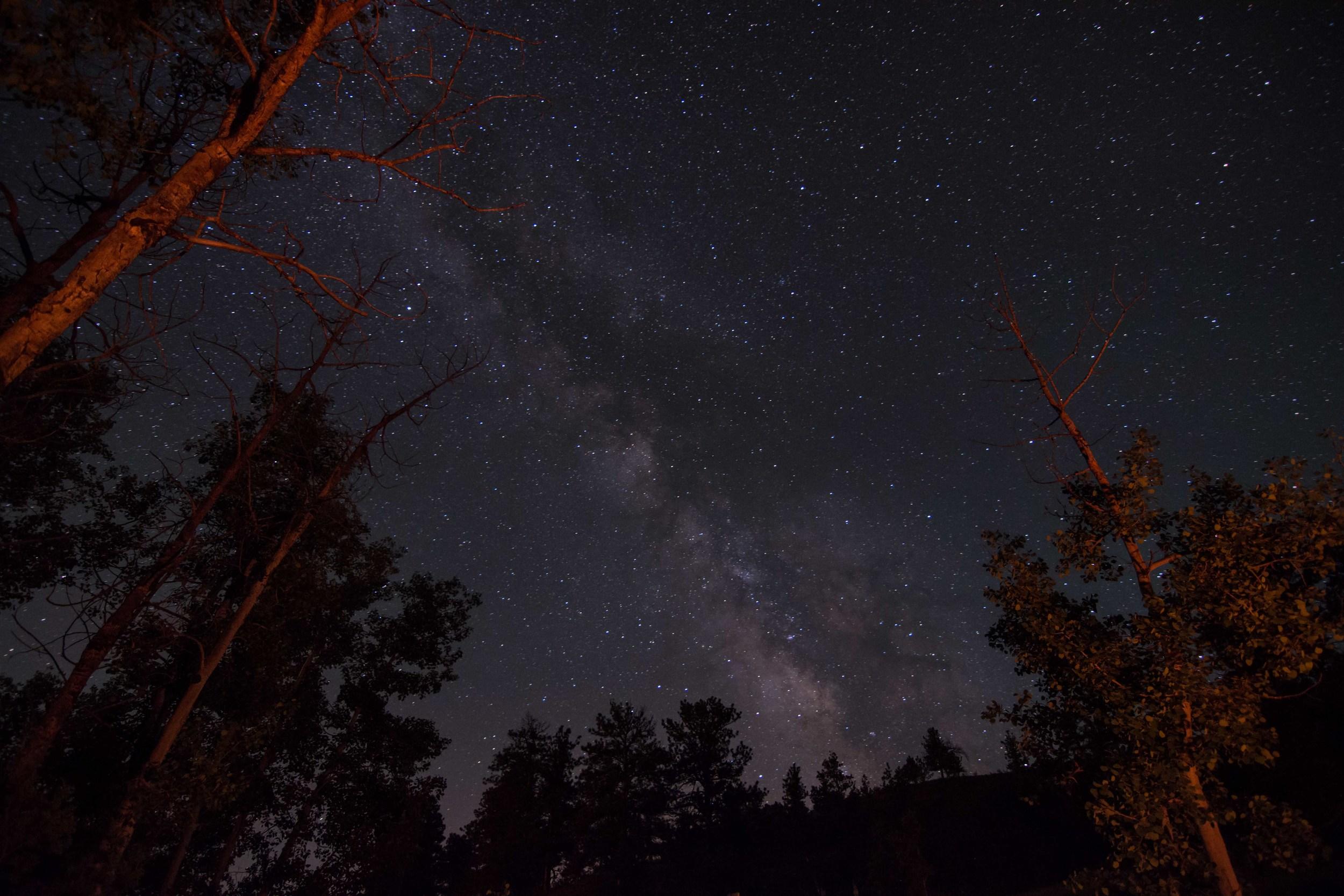 Wyoming Milky Way