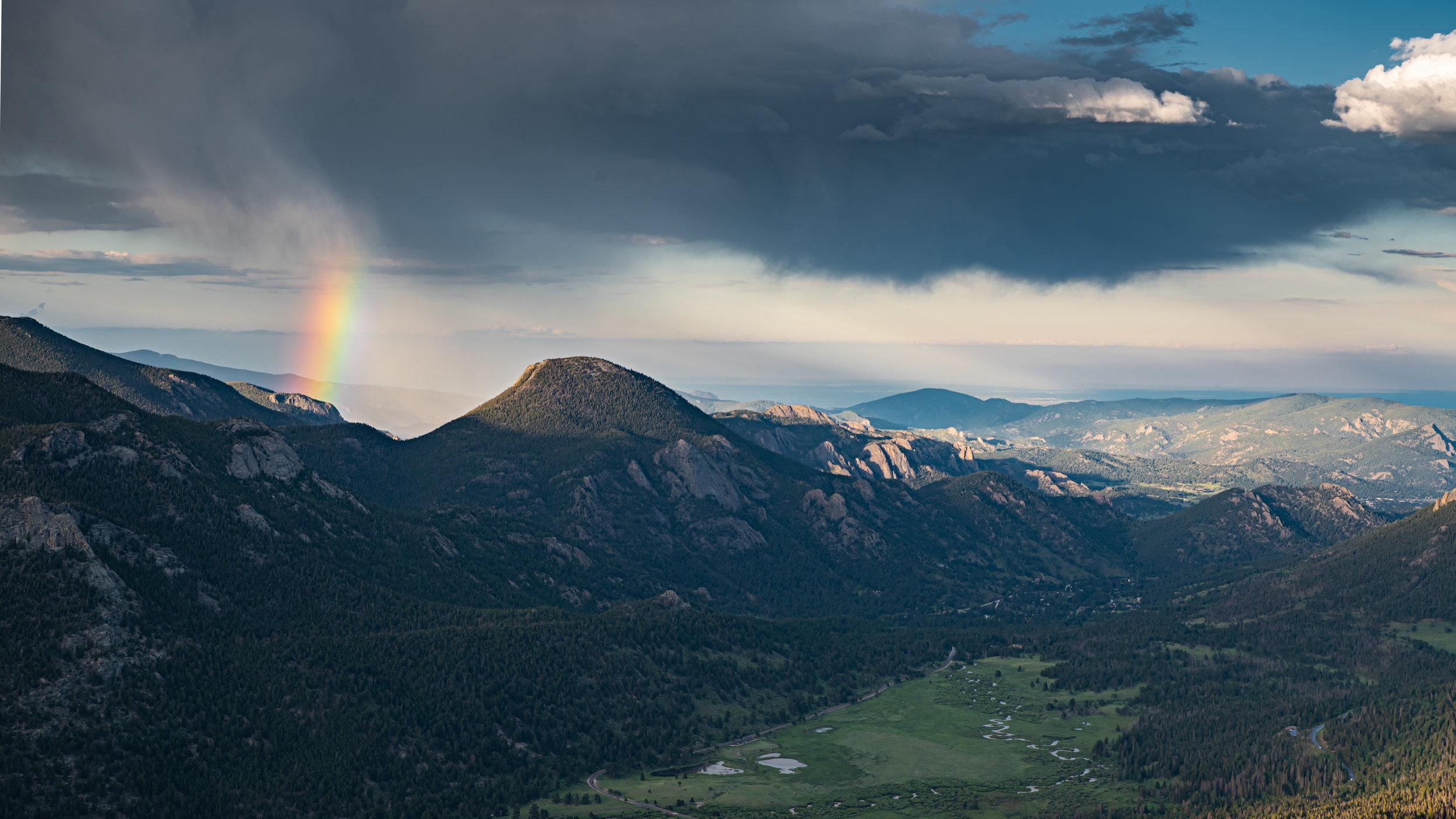 Rainbow Curve. Rocky Mountain National Park July 2019