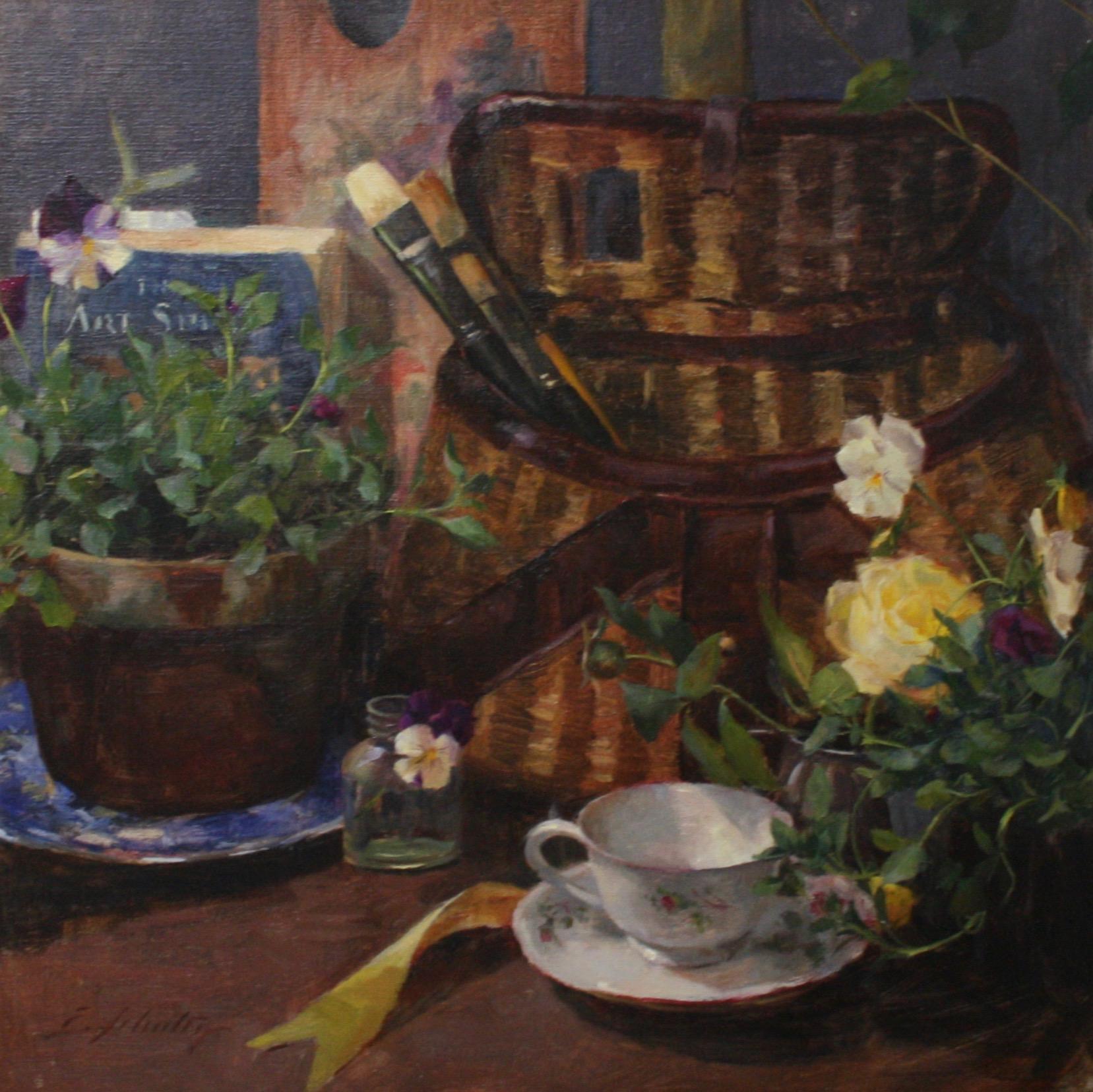 """Artistic Endeavors"" 16x16 $650"