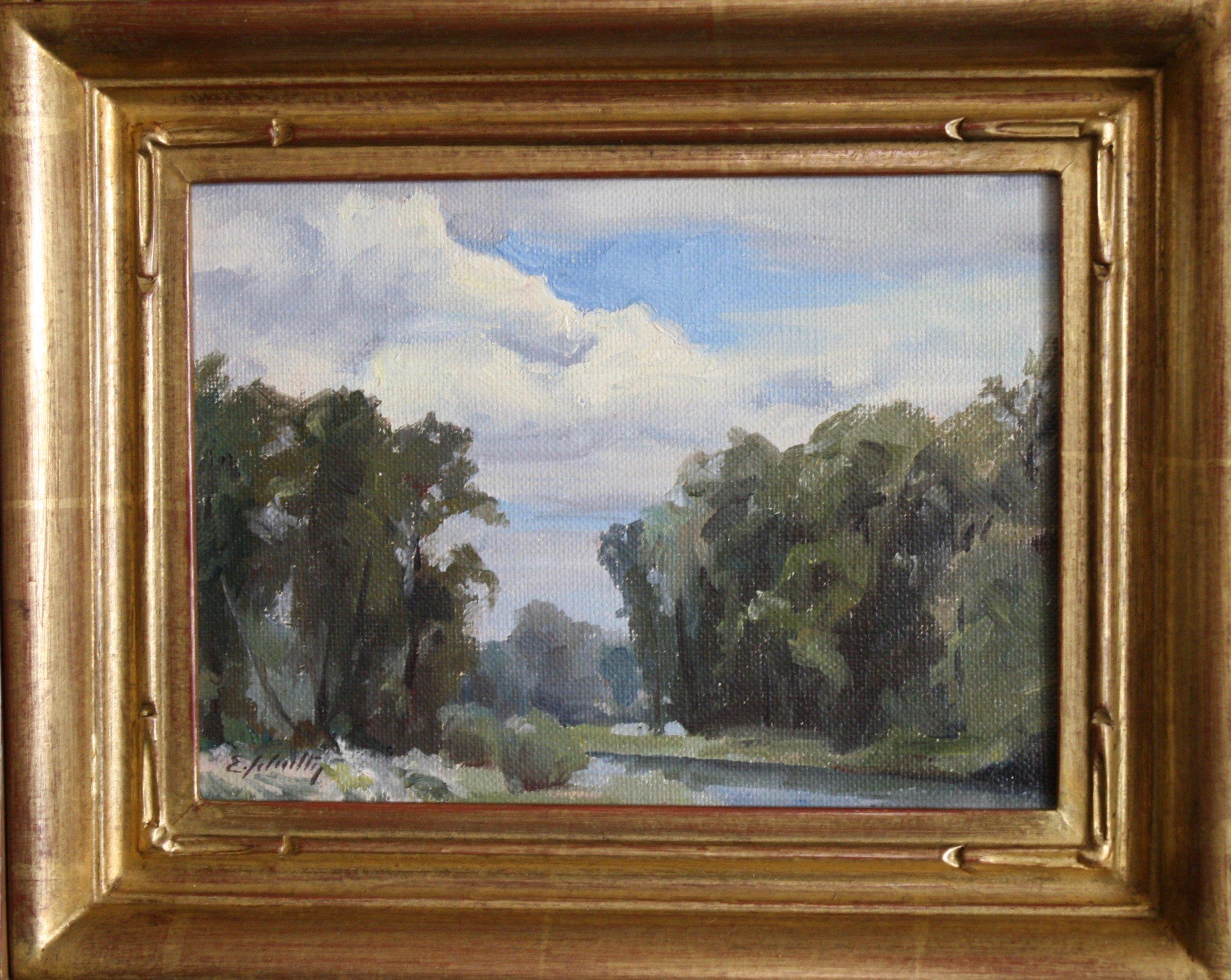 """""""Clouds"""" 6x8 $350"""