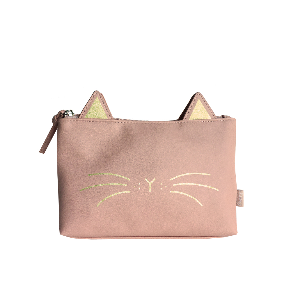 Whiskers Basic Pouch - Blush - Code: T-191WB