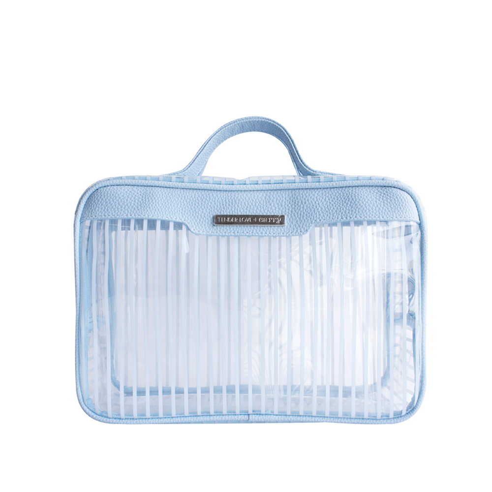 Crystal Stripe Traveller - Blue - Code: T-243CBT