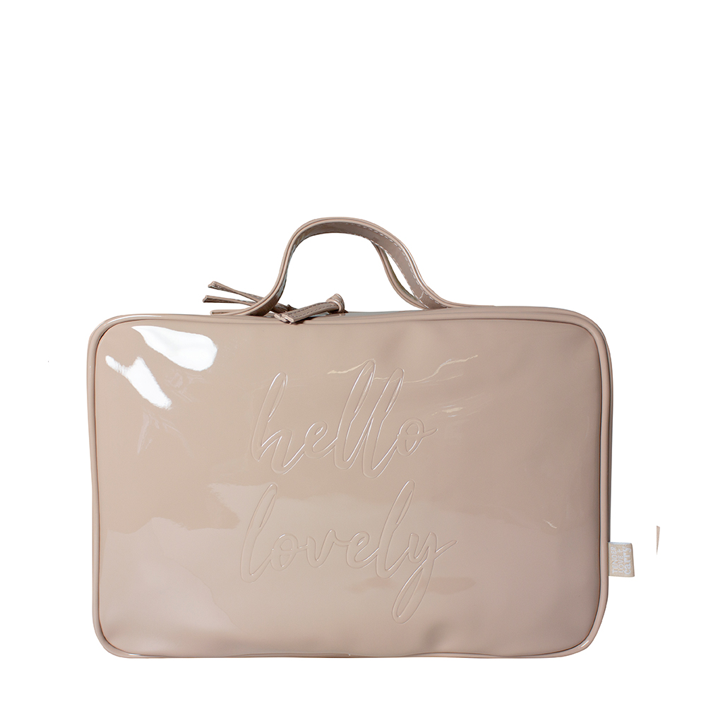 Hello Lovely Hanging Washbag - Nude - Code: T-160SSH