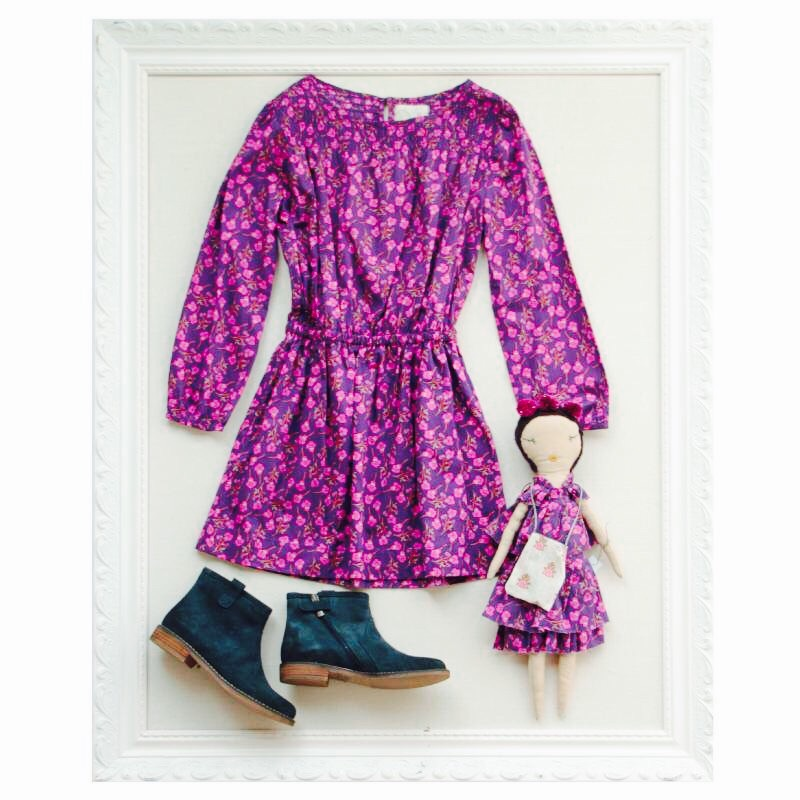 photo  | Peek Kids - Jess Brown doll matching outfit for a little girl to wear.