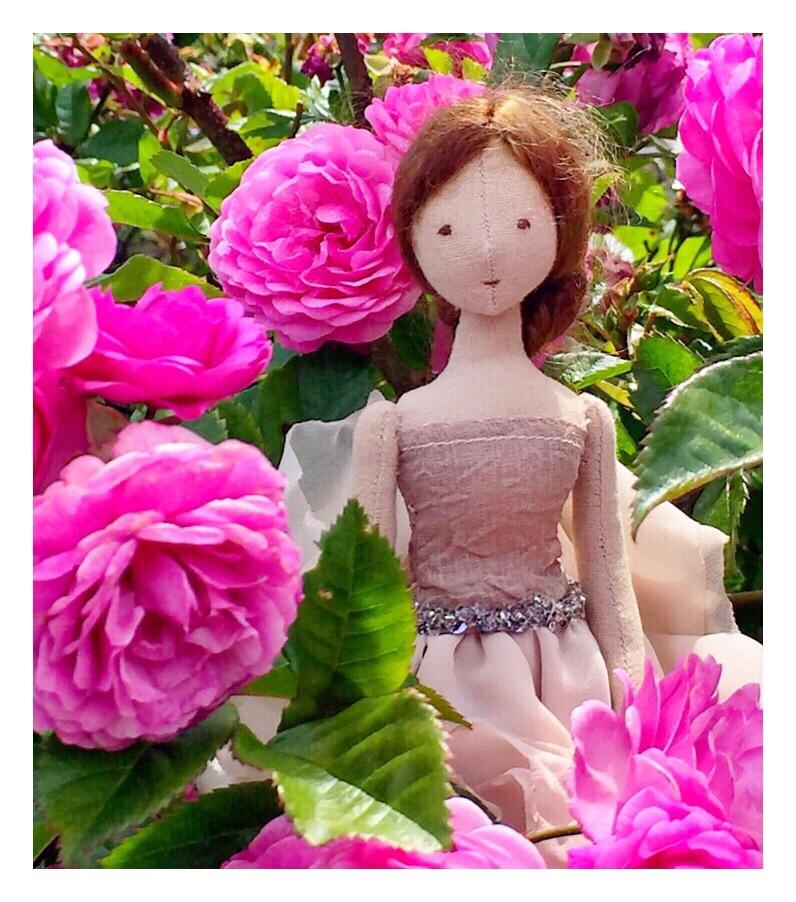 Beautiful handmade heirloom doll by Willowynn