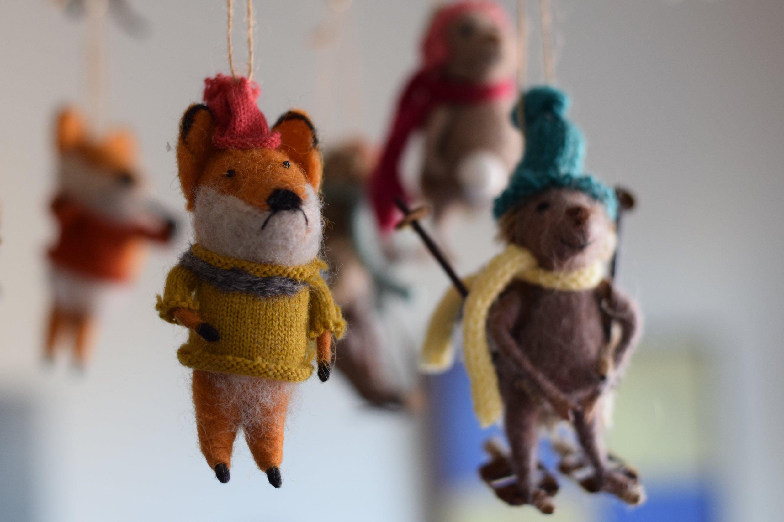 softiescuties_fox_hedgehog_ornaments.JPEG