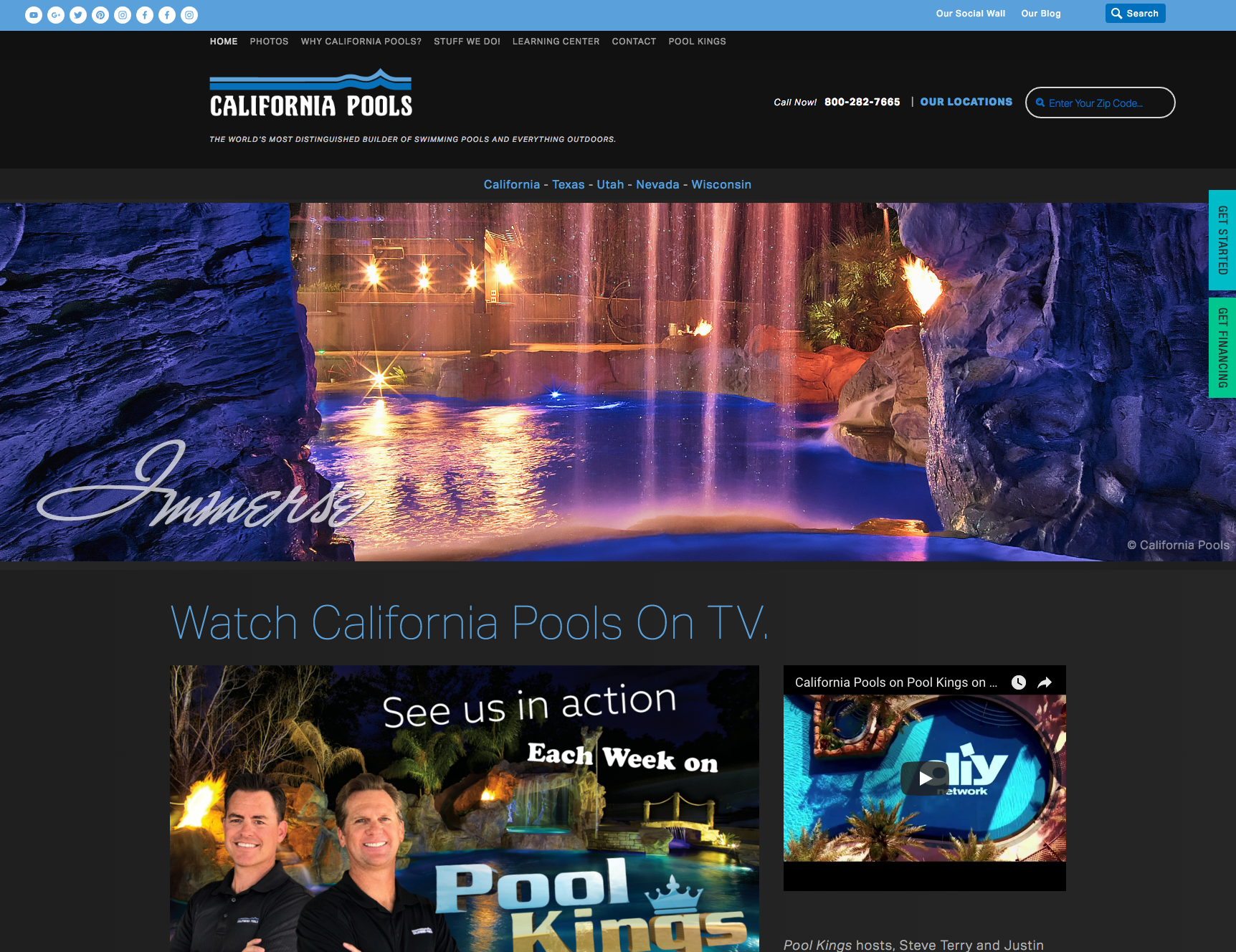 California Pools -