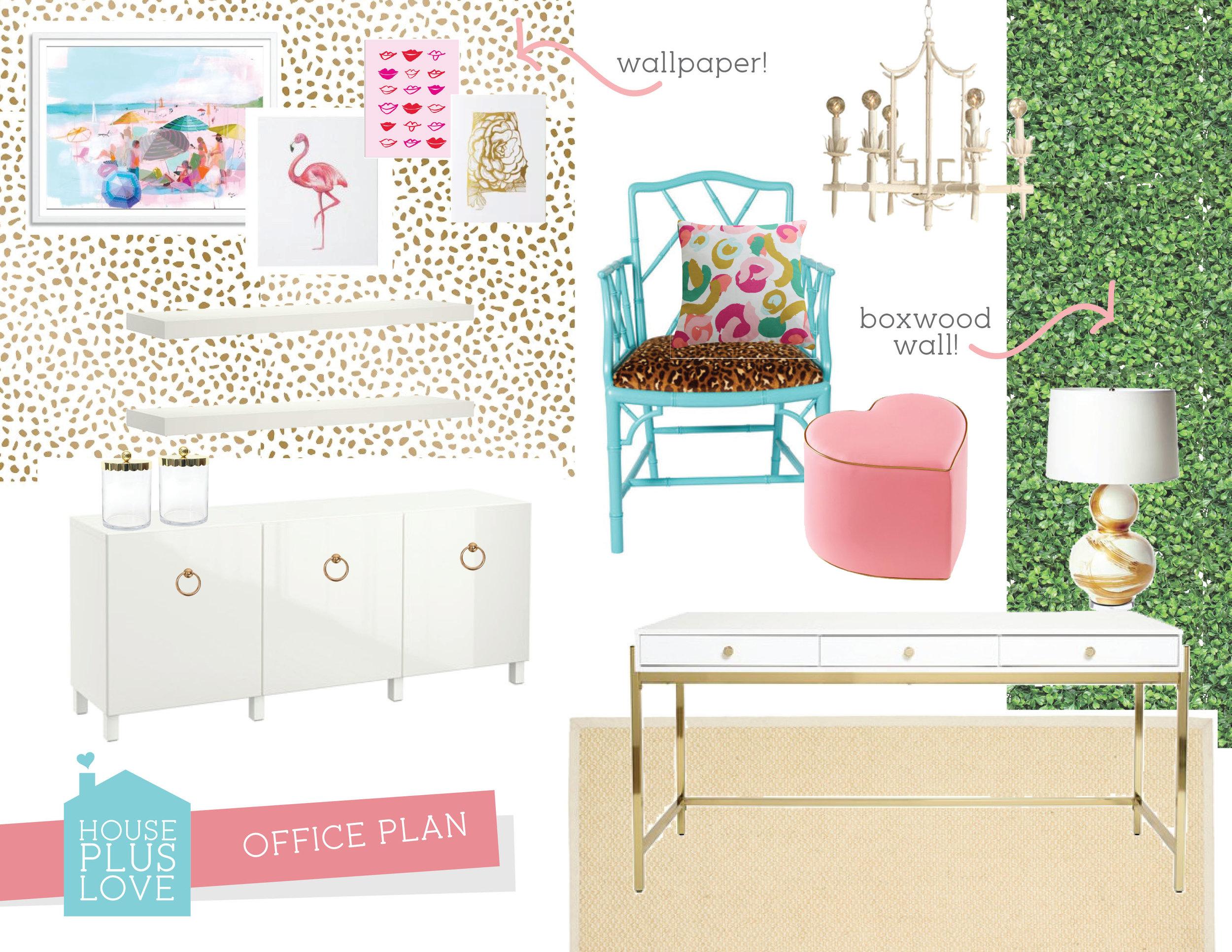 ORC House Plus Love Office Design Plan