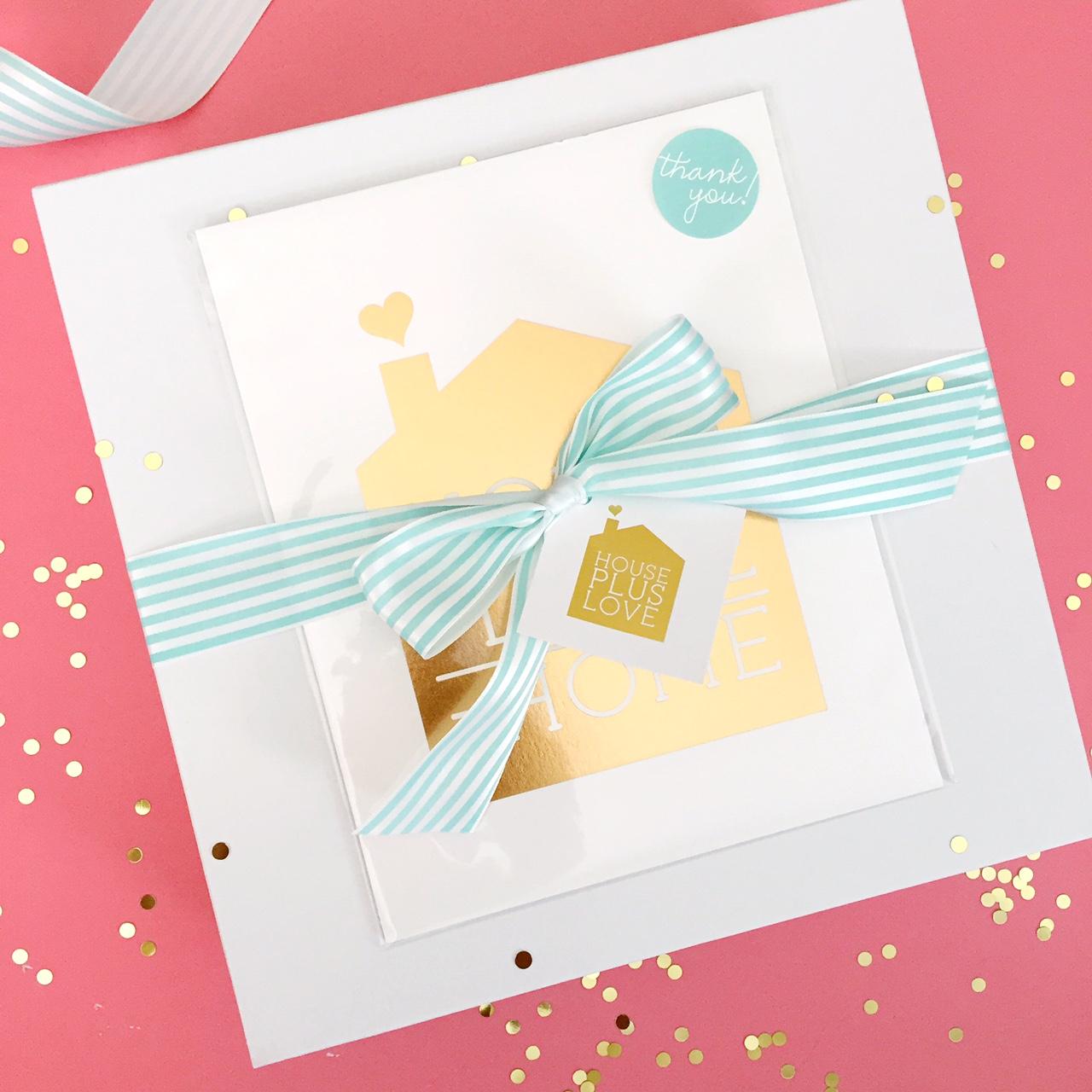 House Plus Love Design Binder Box