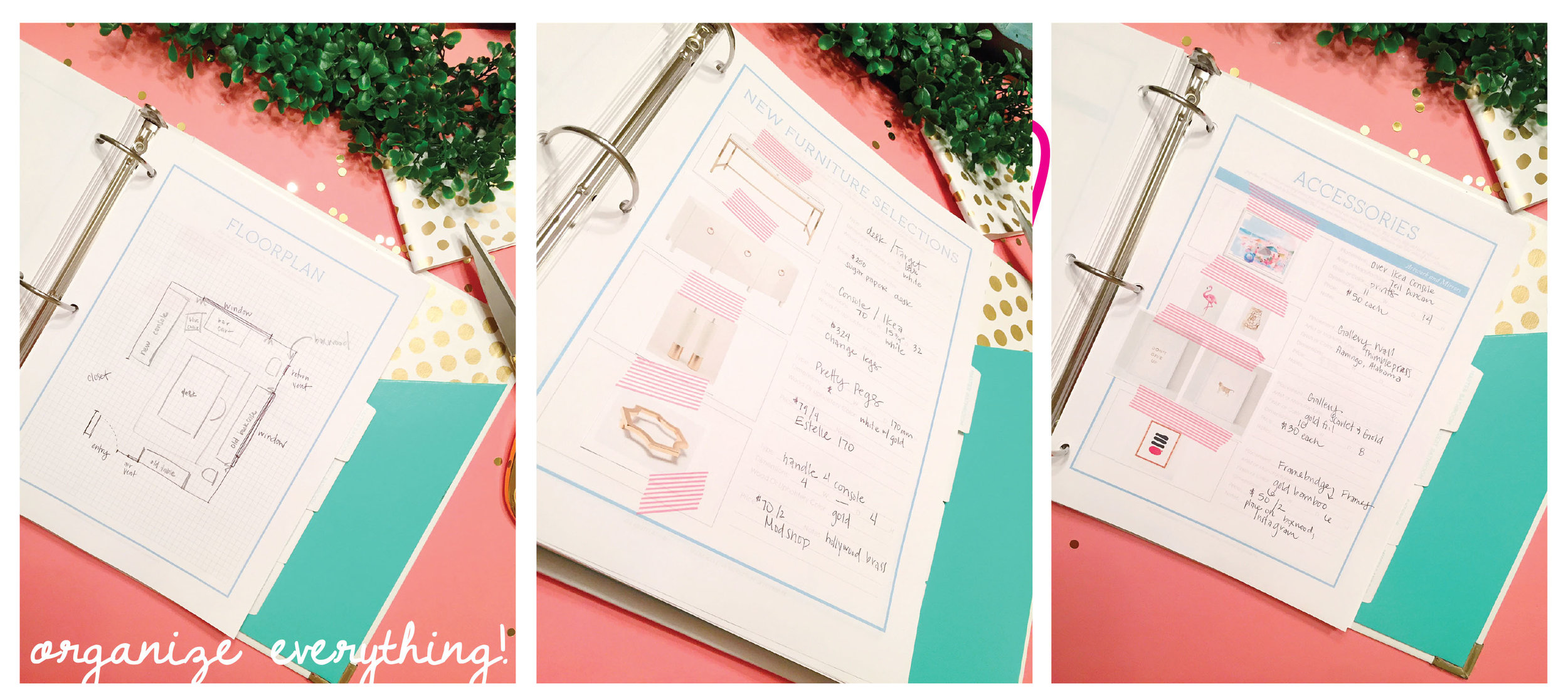 House Plus Love Design Planner Pages