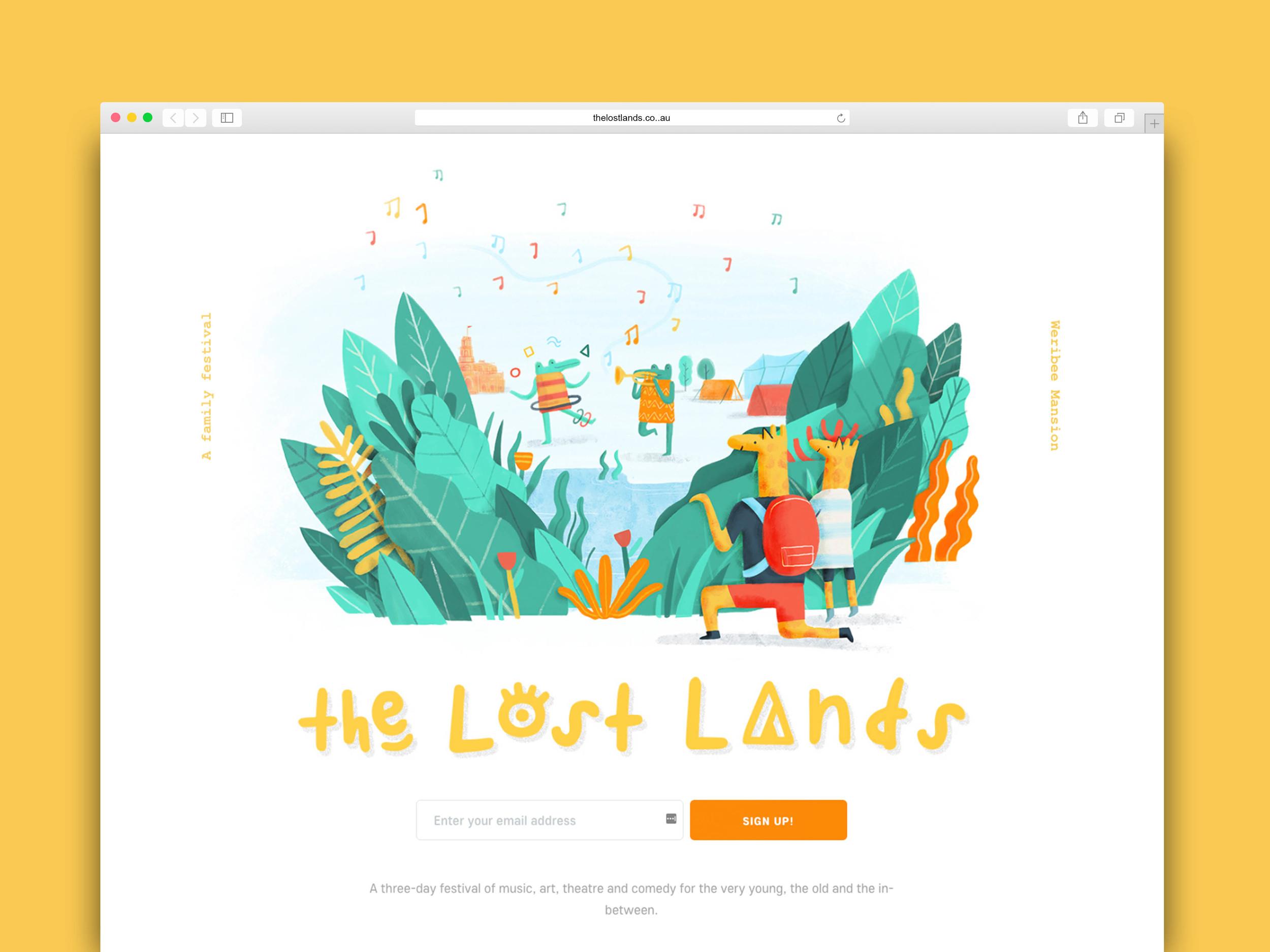 The Lost Lands splash_MarkConlan