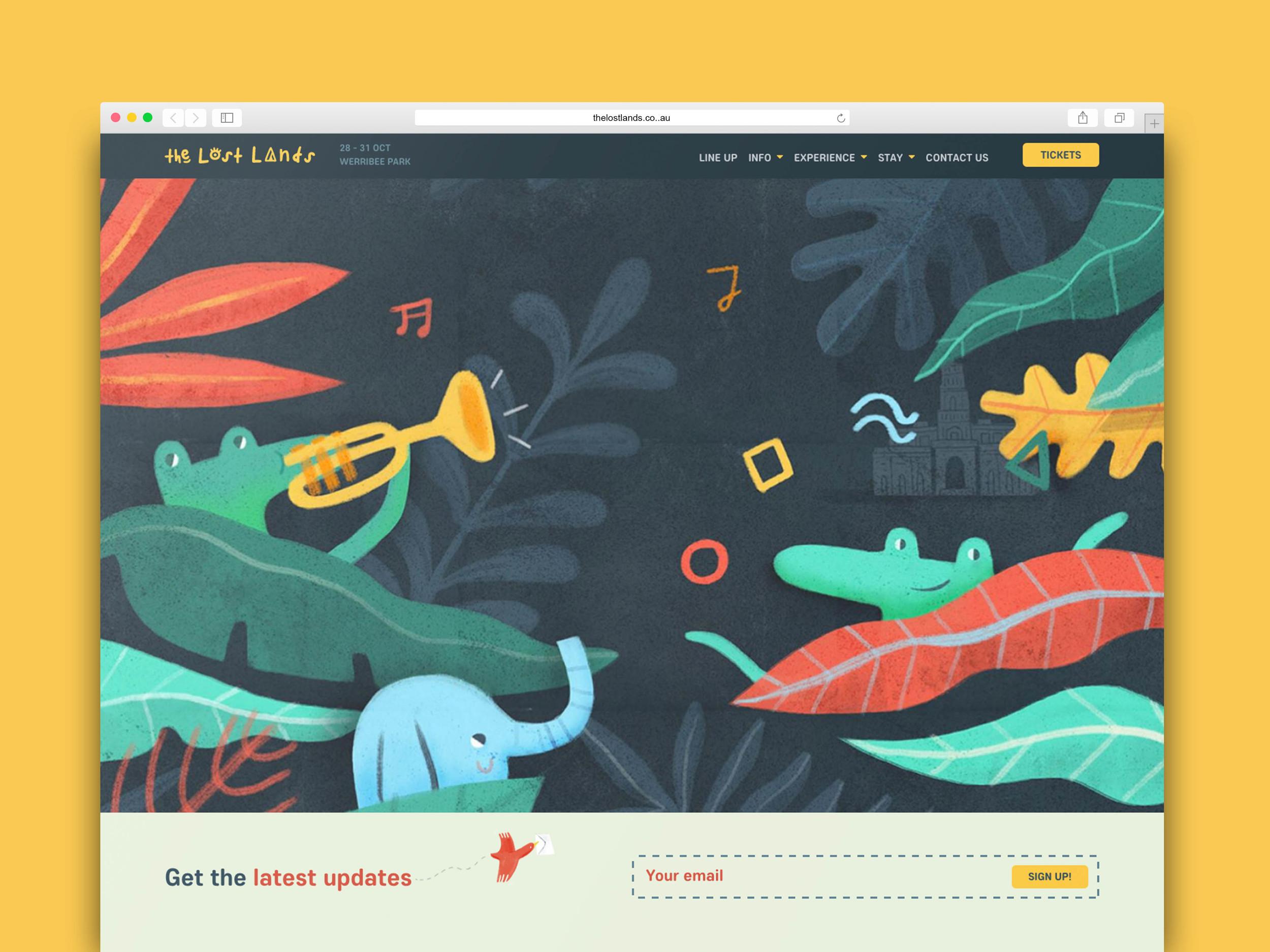 The Lost Lands homepage_MarkConlan