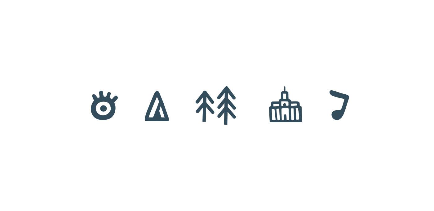 The Lost Lands branding elements_MarkConlan
