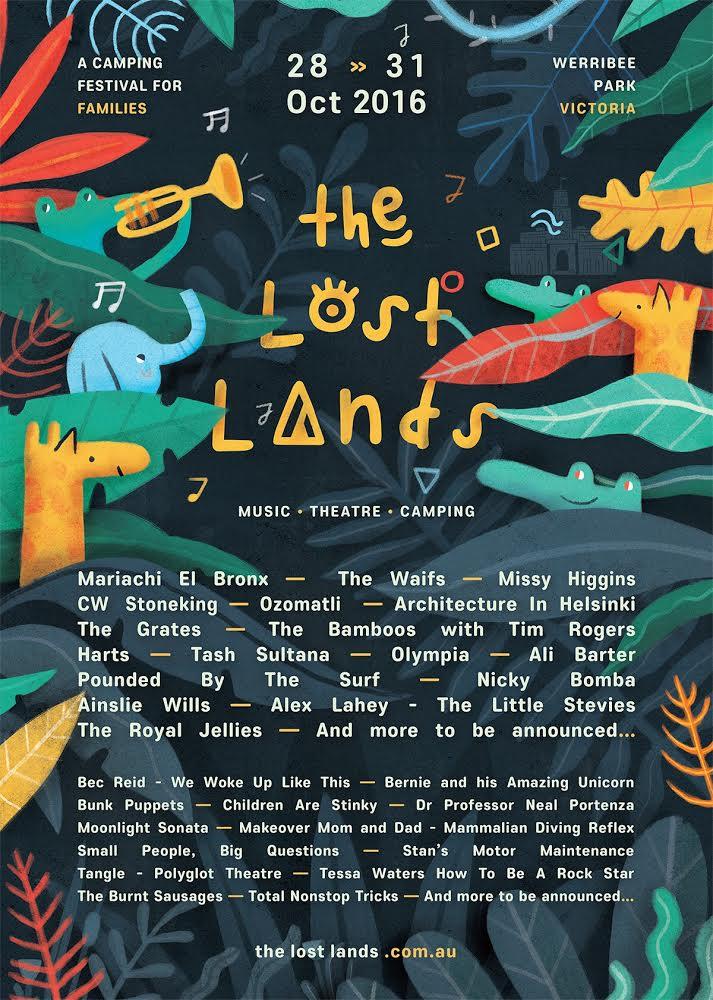 The Lost Lands Poster artwork_MarkConlan