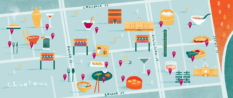 Bank Of Melbourne_Chinatown Map_1