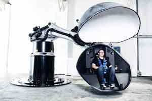 BEC Motion Simulators  - robotic motion simulators, pilot training, vehicle development