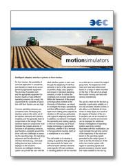 BEC motion imulators - ground vehicles