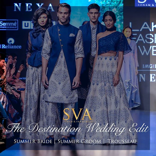 If you want to be a #SVABRIDE this is the destination you should be at on 24th-27th April, SVA Flagship Store, Mumbai. Book your appointments right away 📞02222800871 ❤️ See you there!  #sva #svacouture #svabride #svaflagshipstore #destinationwedding #destination #weddings #summerbrides #summerwedding #groom #summergrooms #trousseau #weddingedit #india #indian #indiantradition #indiangroom #indianbride #couture #lehengas