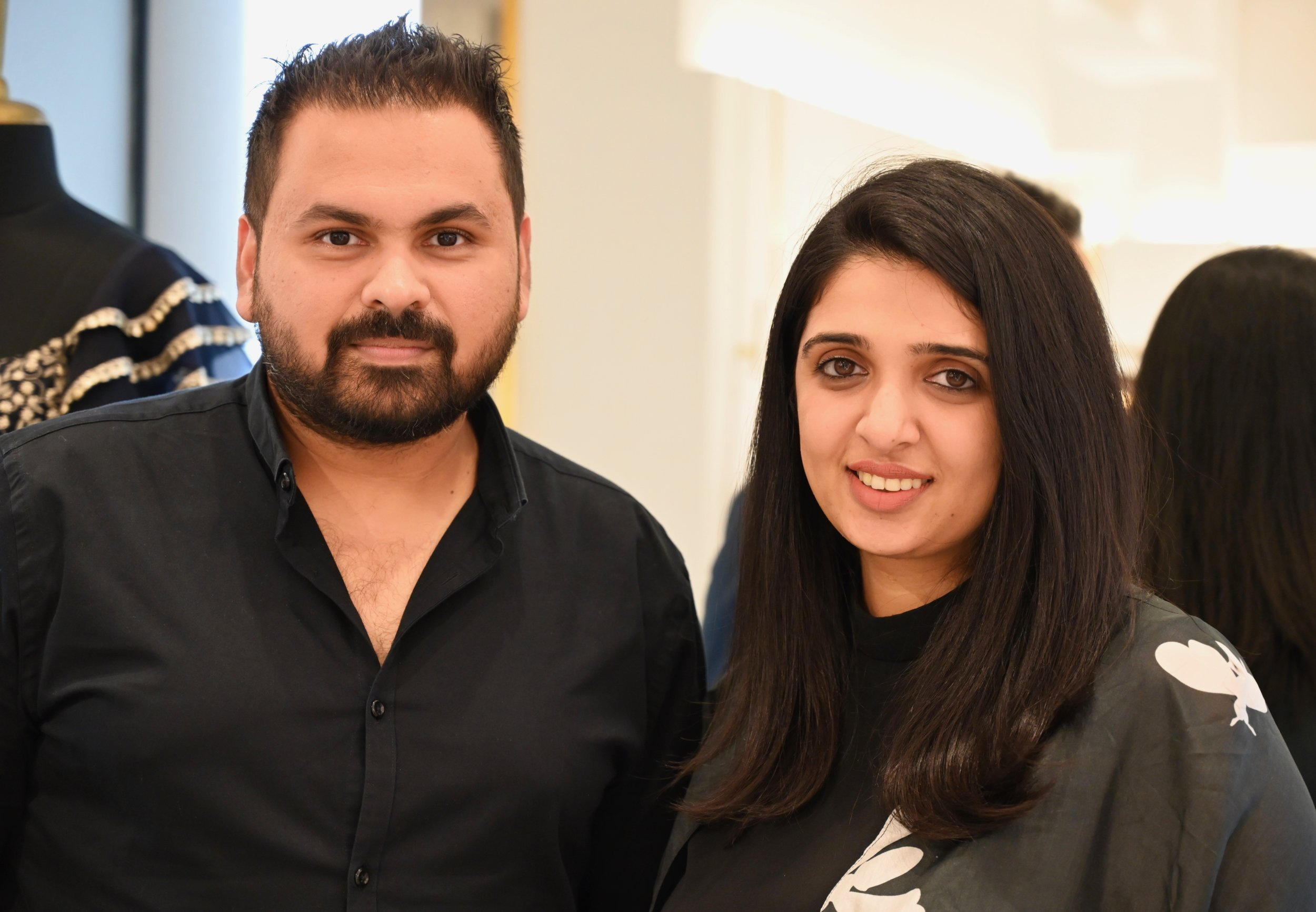 Designers Sonam and Paras Modi