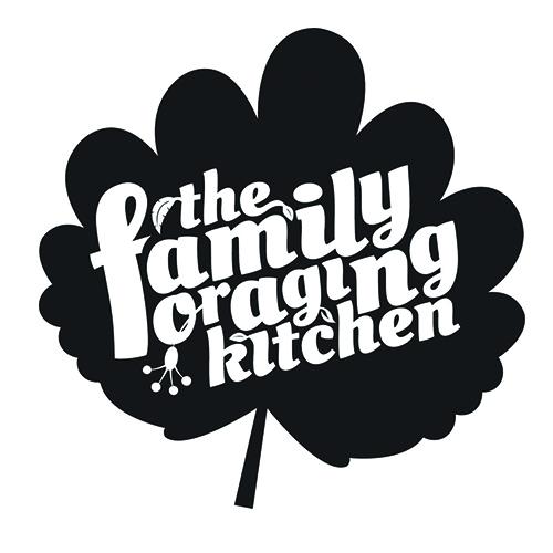 family foraging kitchen