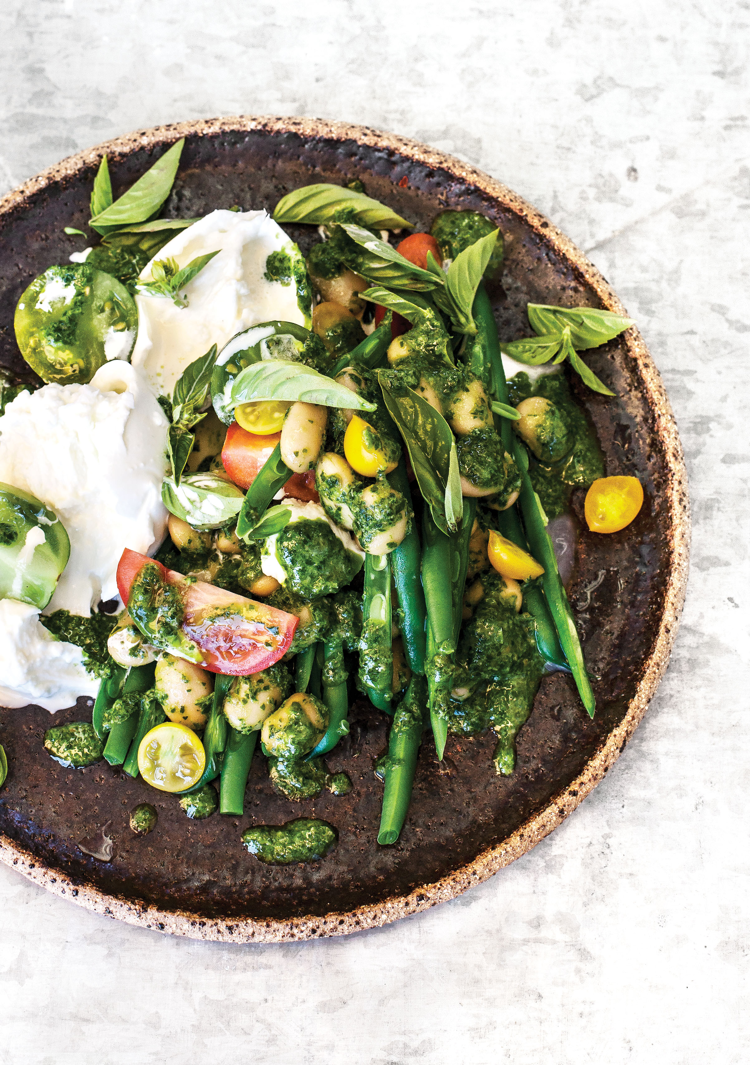 Annabel_Langbein_TOGETHER_NoCookingRequired_GreenSummerSauceWithbeansAndBurrata_PRINT.jpg