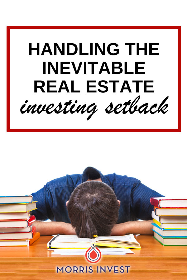 How I handled a letter from the health department - plus how to handle those inevitiable real estate investing setbacks.