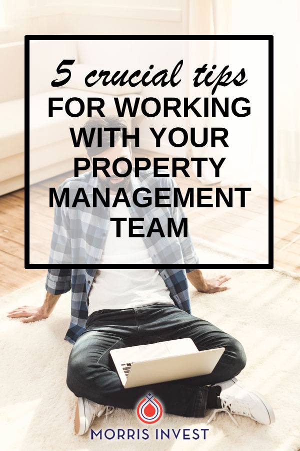 A property management company finds the right tenants, collects the rent, and does all the legwork so you don't have to! As a real estate investor, it's important to remember how valuable your property management team is, and how to work well with them.