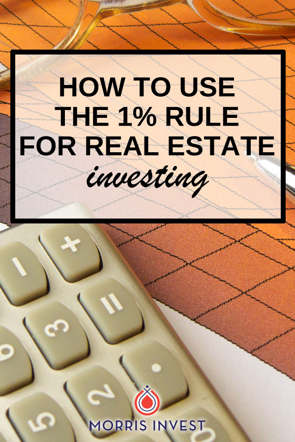 There are many ways to evaluate a real estate deal, but one common method utilized by investors is the 1% Rule. This rule of thumb helps investors determine if their investment will be safe and profitable.