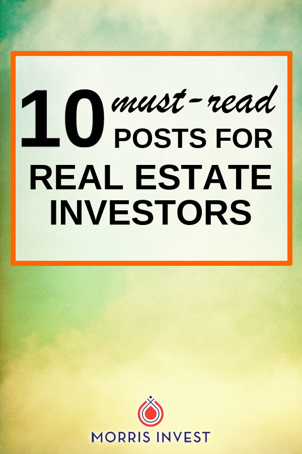 If you're a real estate investor (or thinking of learning about real estate investing) these are a must read!