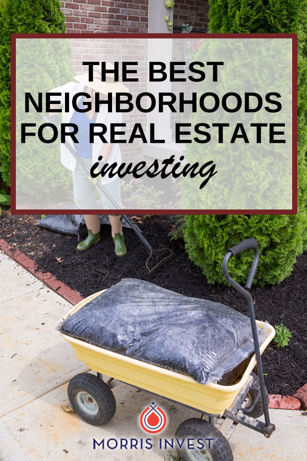 If you're new to real estate investing, I know it can be confusing to nail down the perfect rental market, and then the perfect neighborhood! Here's my strategy.