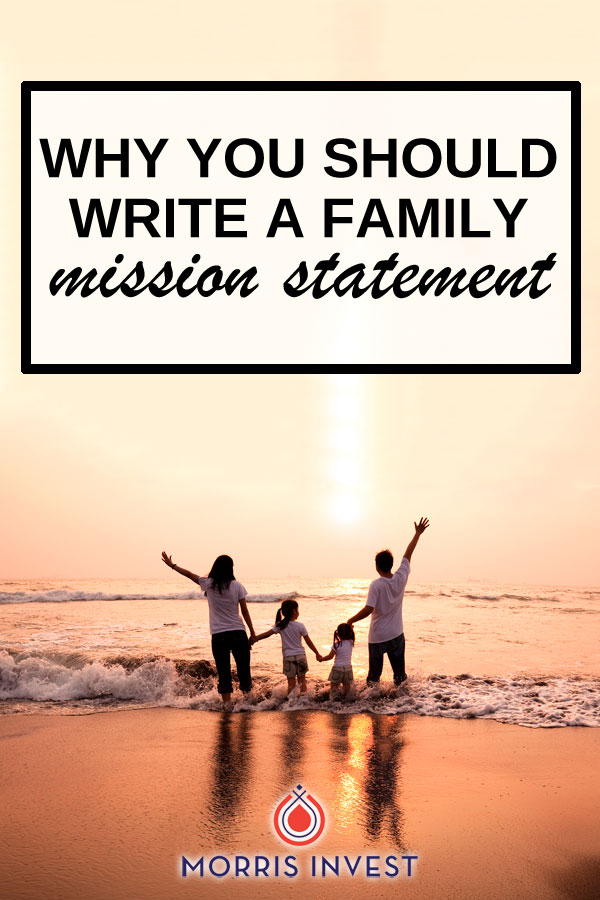 We get in-depth about the idea of a family mission statement. We'll discuss the benefits of this exercise, and the importance of having a straightforward approach in estate planning.