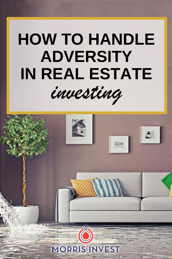 Have you ever allowed a setback to get you down in real estate investing? We all deal with adversity, but in order to succeed, it's important to not give up.