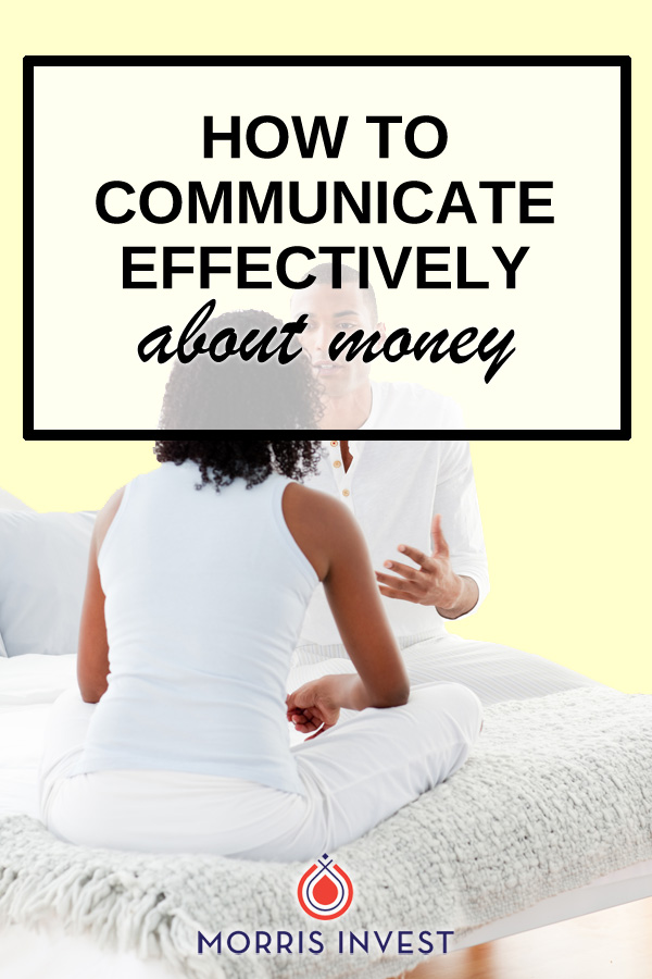 Money can be a touchy subject, but it's important that couples are able to have constructive conversations about financial goals.