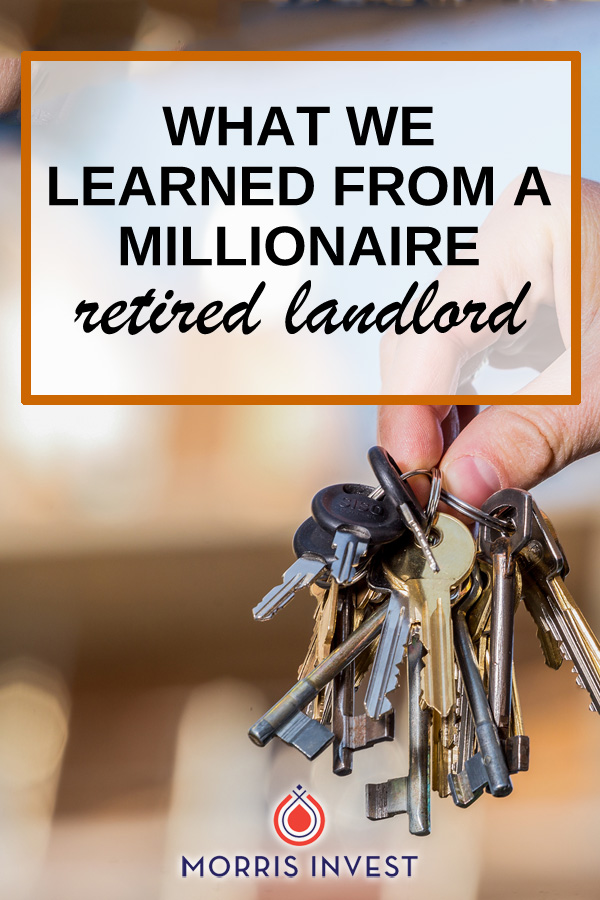 The man we purchased our recent properties from has been a real estate investor for over 40 years. Here's what we learned from talking to a retired millionaire investor.